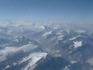 Les Alpes - Monts français italien