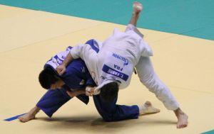 Match de judo français japonais